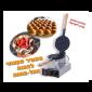 מכשיר להכנת וופל בלגי בצורת ביצים - בועות - כדורים