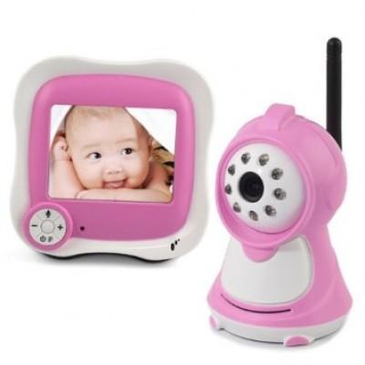 מוניטור לתינוק עם מצלמת וידאו - בייביסנס דגם 2015