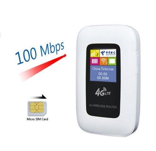 מותג חדש ראוטר - נתב אלחוטי נייד עוצמתי במיוחד מודם סלולארי SIM 3G כולל GJ-98
