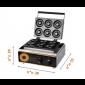 מכשיר מקצועי להכנת 6 דונאטס דגם 2017