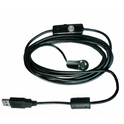 מצלמת מיני חסינת מים למחשב (אנדוסקופ ) עדשת 10mm XR-IC51